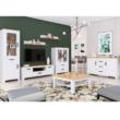 Étkezőasztal, fehér alba/tölgy craft arany, LANZETTE S 1