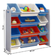 Rendszerező játékokhoz, sokszínű/szürke, KIDO TYP 1 1