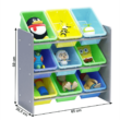 Rendszerező játékokhoz, sokszínű/szürke, KIDO TYP 3 1