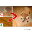 Védőalátét a szék alá, átlátszó, 100x70 cm, 0, 5 mm, ELLIE  NEW TYP 1 1