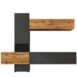 Nappali sor, lava barna szuper matt/tölgy wotan, BRISTOL 2