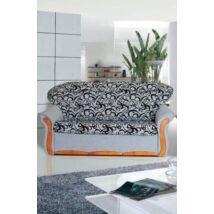 Evelin 3-as bonell rugós fabetétes kanapé szövetes