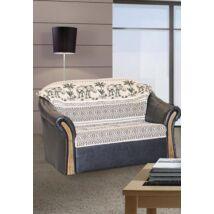 Rió 2-es szivacsos, fabetétes kanapé