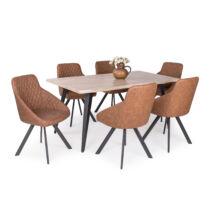 TINA asztal 6 db DOMINO székkel
