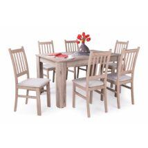 Delta 6 személyes étkezőgarnitúra, Félix asztallal
