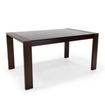 Piero üveglapos asztal (150x90cm +60cm)