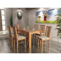 Félix 6 személyes étkezőgarnitúra, Félix asztallal