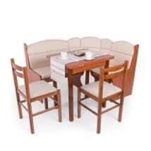 Ádám konyhai sarok (2 szék + asztal + konyhai sarok)