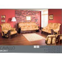 Cavallo 3+2+1 valódi bőr ülőgarnitúra