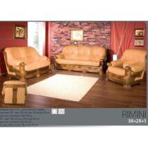 Rimini 3+2+1 valódi bőr ülőgarnitúra