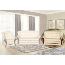 Oregon 2-es szivacsos, fabetétes kanapé