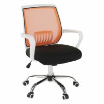 Irodai szék, fekete/narancssárga, LANCELOT