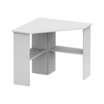 PC asztal, sarok, fehér, RONY NEW