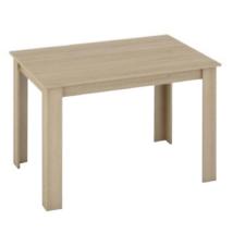 Étkezőasztal, tölgy sonoma, 120x80, KRAZ