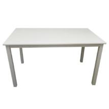 Étkezőasztal, fehér, 135 cm, ASTRO NEW