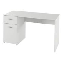 PC asztal, fehér, BANY