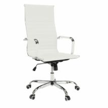Irodai szék, fehér, AZURE 2 NEW