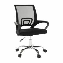 Irodai szék, háló fekete/fekete, DEX 2 NEW