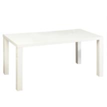 Étkezőasztal, fehér magas fény HG, ASPER NEW TIP 4