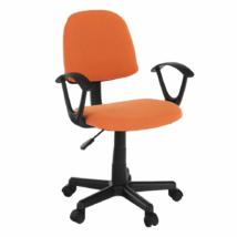 Irodai szék, narancssárga/fekete, TAMSON