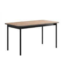 Étkezőasztal, tölgy jaskson hickory/grafit, BERGEN BL140