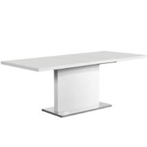 étkezőasztal , fehér színű HG, KORINTOS