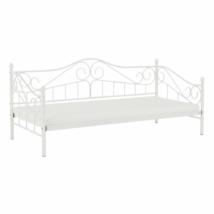 Fém ágy, fehér, 90x200, DAINA