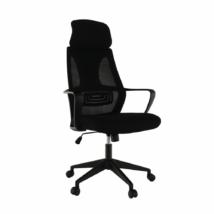 Irodai szék, fekete szövet, TAXIS