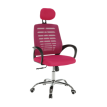 Irodai szék, rózsaszín, ELMAS
