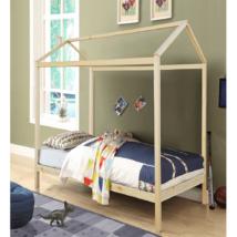 Montessori ágy, fenyő fa, természetes, ATIMAD