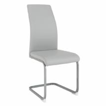 Étkező szék, világosszürke/szürke, NOBATA