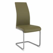 Étkező szék,oliva zöld/szürke, NOBATA