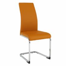 Étkező szék, mustár/króm, VATENA