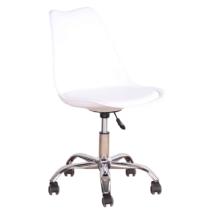 Irodai szék, fehér, DARISA NEW