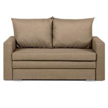 Széthúzhatós kanapé, világosbarna melír, DOTY