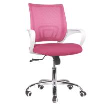 Irodai szék, rózsaszín/fehér, SANAZ TYP 2