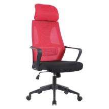 Irodai szék, fekete/málna, TAXIS