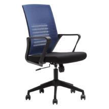 Irodai szék, sötétkék/fekete, DIXOR