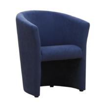 Klub fotel, kék, CUBA