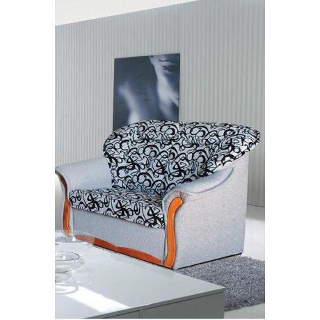 Evelin 2-es bonell rugós fabetétes kanapé szövetes