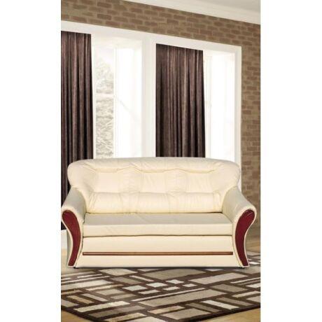 Oregon 3-as szivacsos, fabetétes kanapé