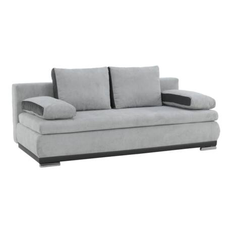 Arlon kanapé szürke - szürke textilbőr