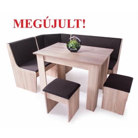 Attila konyhai sarok (2 ülőke + asztal + konyhai sarok)