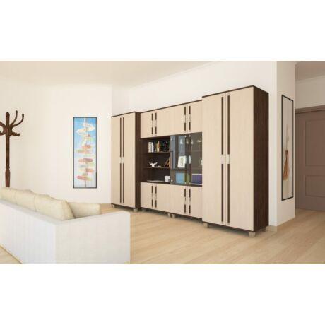 Szandra szekrénysor, 320 cm, fiókos elemmel