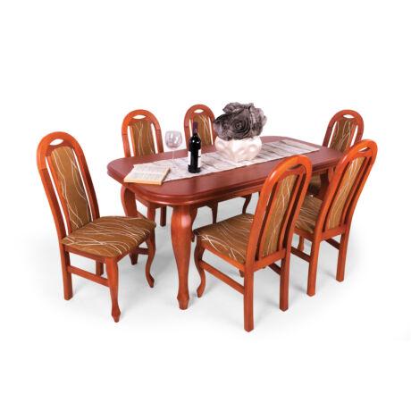 Nevada 6 személyes étkezőgarnitúra, Nevada asztallal