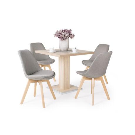 Lili 4 személyes étkezőgarnitúra  Coctail asztallal