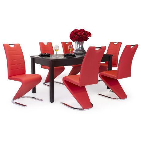 Lord 6 személyes étkezőgarnitúra Berta asztallal