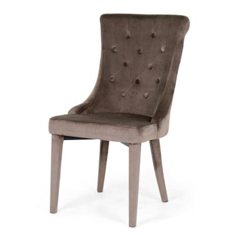 Cleopatra szék sötétbarna