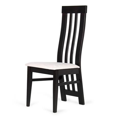 Lara szék wenge - fehér szövet