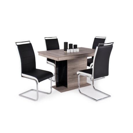 Száva 4 személyes étkezőgarnitúra Debora asztallal